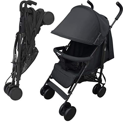 Carrinho de Bebê Voyage Park Preto, 0 a 15 kg