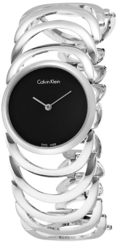 Calvin Klein-Reloj de Pulsera analógico para Mujer Cuarzo Acero Inoxidable k4g23121