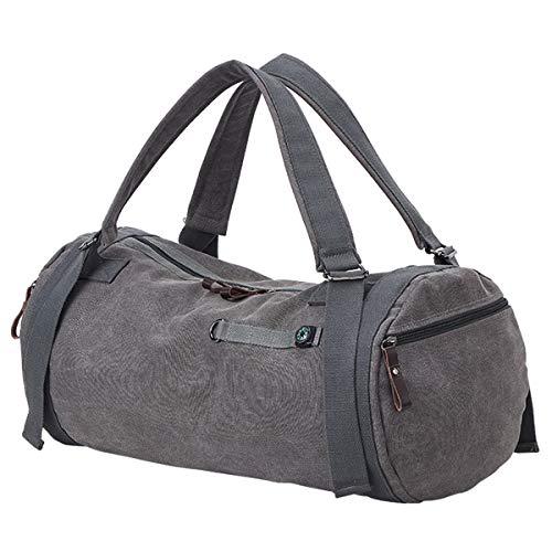 Sporttasche Herren,Travistar Reisetasche mit Schuhfach & Kompass Groß,Rucksack Handgepäck Canvas für Weekender Herren Duffel Taschen
