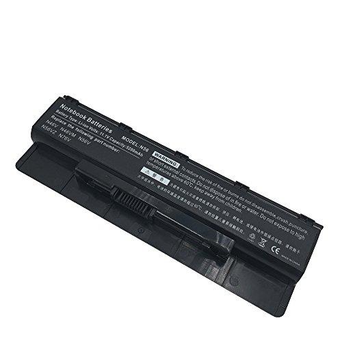 HUI-MATOOG Laptop Akku A32-N56 für Asus N56 N56 N56D N56D N56J N56V N56V N56VB N56VM N56VM N56VZ N76 N76V G56 N46 11.1V 5200mAh
