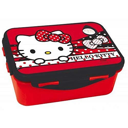 GIM Hello Kitty Lunchbox - Caja de Almuerzo - Brotdose - Portamarenda - boite a gouter