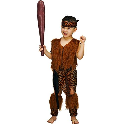SEA HARE Disfraz de Cavernícola Infantil Disfraz (7-9 años)