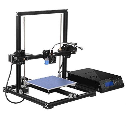 Tronxy, X3A, grande stampante 3D a livellamento automatico, alta precisione, struttura in alluminio, ugello MK8, kit fai da te, schermo LCD 2004A. Dimensioni di stampa: 220x 220x 300mm.