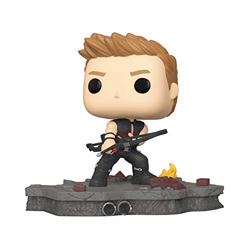 Funko Pop! Marvel 586 Avengers Assemble Hawkeye Deluxe Special Edition