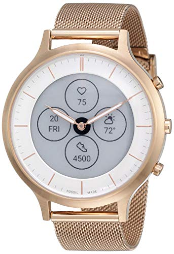 Fossil Women's 42MM Charter HR Heart Rate Stainless Steel...