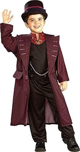 Official Willy Wonka bambini Charlie e la fabbrica di cioccolato di giorni a settimana Fancy Dress Up-Costume da 3-10 anni