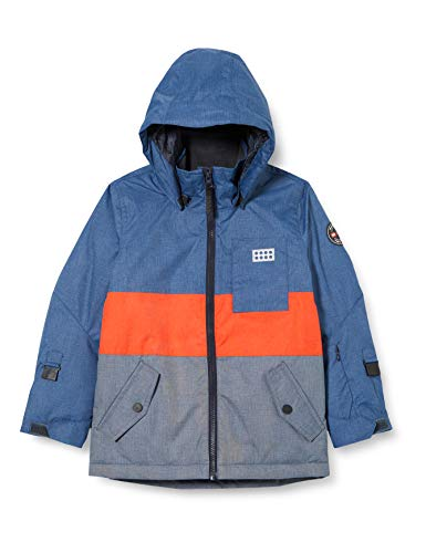 Lego Wear Jungen LWJOSHUA-Lego Tec COOL Jacke, 508 Light Blue, 164