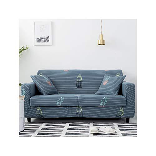 HGblossom Sofabezüge Spandex Für Wohnzimmer Stretch Schonbezüge Couchbezug Schnittsofa Ecksofa Bezüge Farbe 12 2-Sitzer 145-185Cm