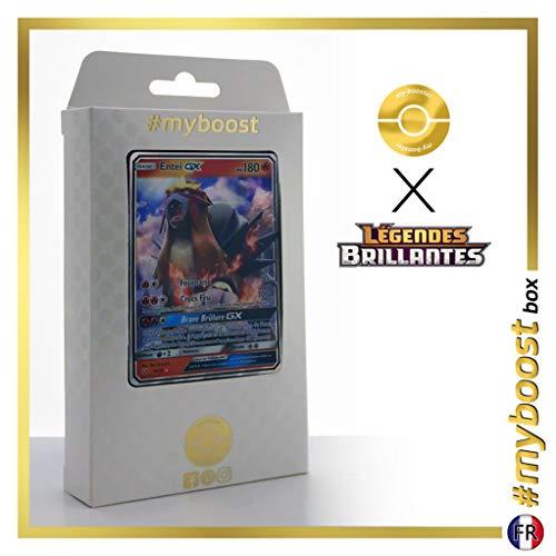 Entei-GX 10/73 - #myboost X Soleil & Lune 3.5 Légendes Brillantes - Coffret de 10 Cartes Pokémon Françaises