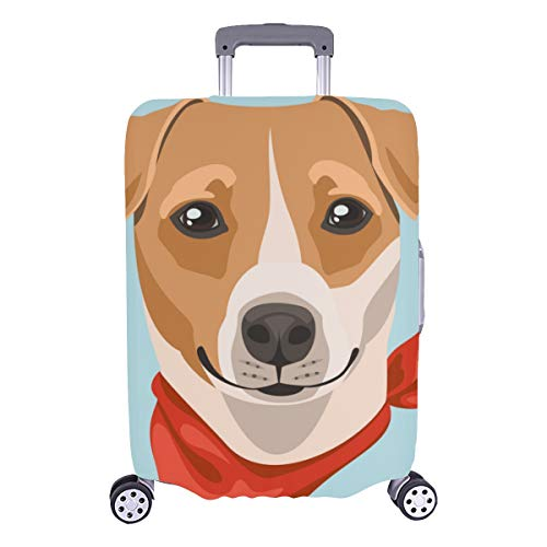 Best Luggage Cover Jack Russell Terrier Dog Puppy Pet Durable Washable Protecor Cover Fits 28.5 X 20.5 Inch Girly Luggage Cover Suitcase Protectors Protective Covers For Luggage