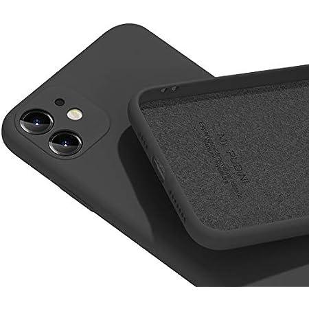 PANDA BABY iPhone 11/11 Pro/11 Pro Maxシリコンケース レンズの全面保護 (11, ブラック)