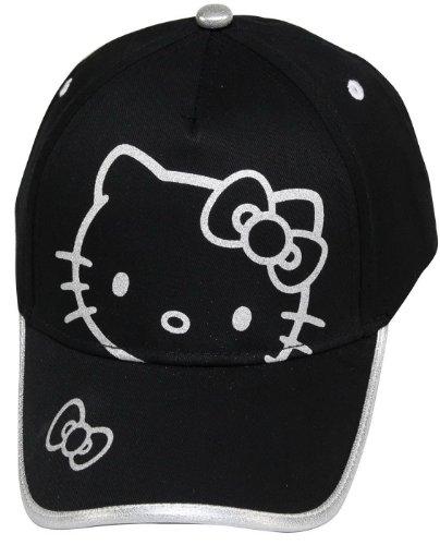 Hello Kitty Cap Gr. 54 schwarz Kappe HK3173