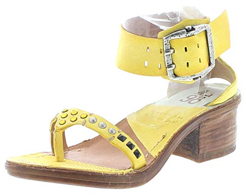 FB Fashion Boots Damen Sandale A.S.98 690010 Airsteps Riemensandale Gelb 40 EU inkl. Schuhdeo