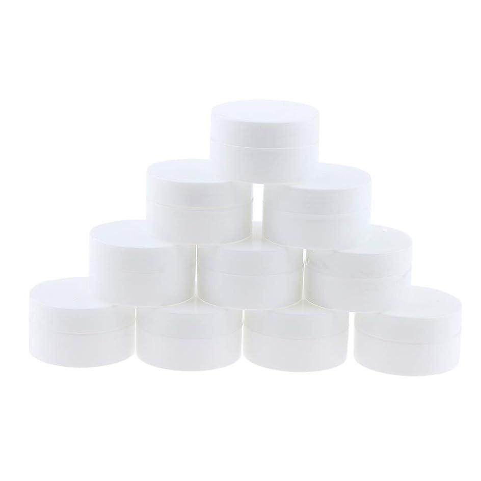 異邦人副均等にP Prettyia 10個 クリームジャー 10g コスメ用詰替え容器 旅行小物