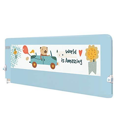 Extension de Hauteur de Rail de lit pour Berceau Extra-Long pour barrière de Garde de lit de bébé d'enfants pour lit Double 75cm de Hauteur (Taille : Length 1.8m)