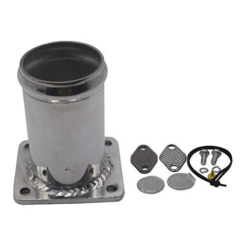 H HILABEE Kit di Rimozione del Kit di Rimozione in Alluminio EGR per BMW E46 E39 X5 E53 X3 E83 E38 EGR