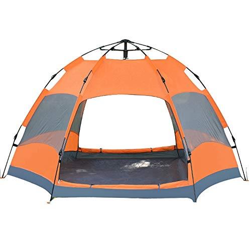 XINCHAOZ Hexagon Tent, 6 to 9 man Festival tent, waterproof Family Camping Tent