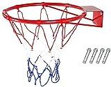 Aro De Baloncesto, Red De Aro De Baloncesto, Aro De Portería Montado En La Pared Red De Baloncesto Artículos Deportivos Red De Borde Red De Deportes, Con Red Y Tornillos, Para Exteriores, Interiores,