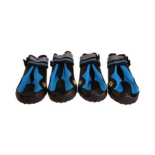 V-Hao Adjustable Dog Boots Non-Slip Tear-Resistance Pet Booties