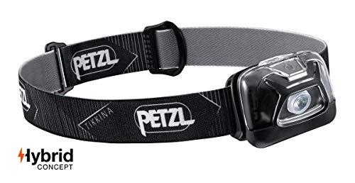 PETZL - TIKKINA Headlamp, 250 Lumens, Standard Lighting, Black