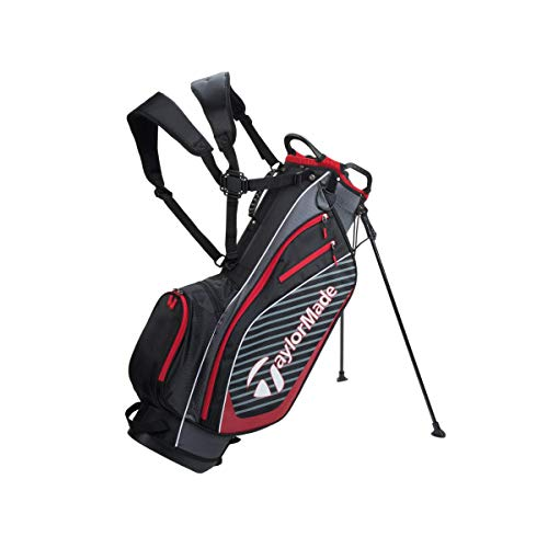 TaylorMade Pro Stand 6.0 Golf Bag, Black, One Siz