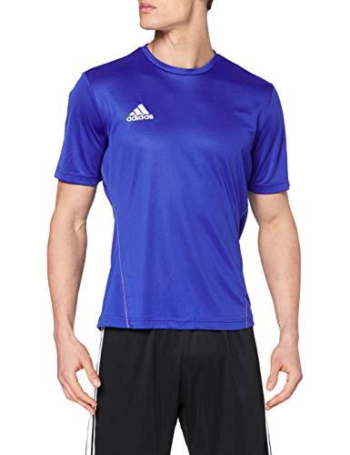 adidas Herren Trikot/Teamtrikot Coref training jersey, Blau (Bold Blue/White), L