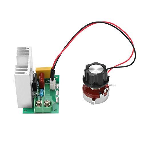 Regulador de voltaje continuamente ajustable de alta potencia eléctrico, atenuador LED, controlador de velocidad del motor para electrodomésticos