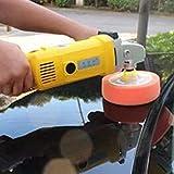 Kit de almohadillas para pulir automóviles Pulido coche disco de pulido máquina dedicada Esponja Rueda Cera de pulido de esponja esponja de descontaminación, ajuste for 16mm