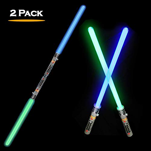 Product Image of the 2-in-1 LED Light Up Swords