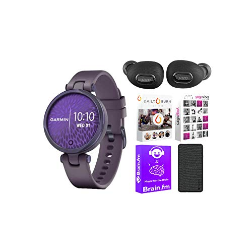 Garmin Lily Sport Smartwatch for Women (Midnight Orchid...