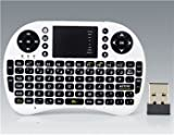 UKB-500-RF 92-Keys 2.4G Wireless Mini Keyboard With Backlight (White) + Worldwideing