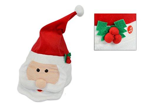 Noel Walking Character - Figura de Papá Noel bailarín con movimiento y...