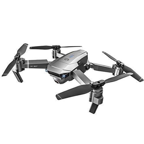 TRCS Dron fotográfico plegable SG906 PRO 2 5GWIFI 4K 50x cámara de imágenes aéreas, cardón de 3 ejes, 5G WiFi HD Live Video, GPS Auto Return, Dron con gestos de dedos