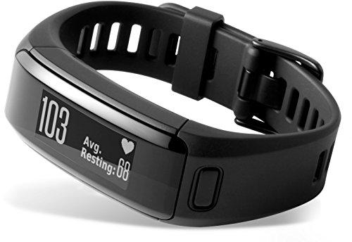 Garmin vívosmart HR Fitness-Tracker – integrierte Herzfrequenzmessung am Handgelenk, Smart Notifications, Schwarz, M – L (13,7-18,8 cm) - 7