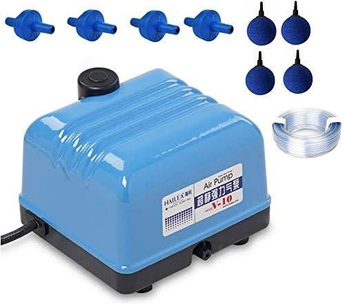 Hailea V-10 Set Aquarium Belüfter Sauerstoff Garten Eisfreihalter Luftpumpe 10 W