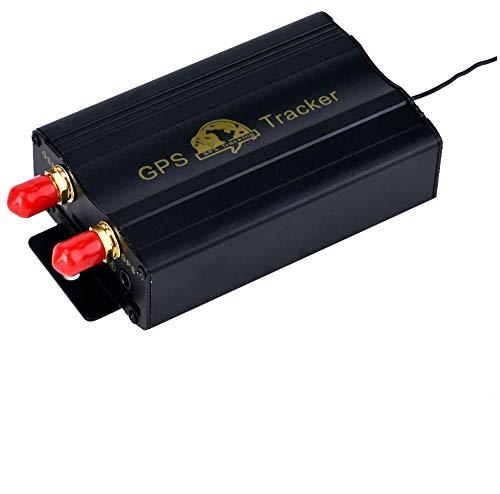 Rastreador GPS SMS TK103B con mando a distancia de control, software versión PC, aplicación de escáner de seguimiento en tiempo real con enlace a Google Maps