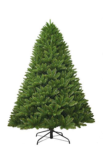 KING OF CHRISTMAS 6 Foot Tribeca Spruce Green Artificial Christmas Tree Unlit