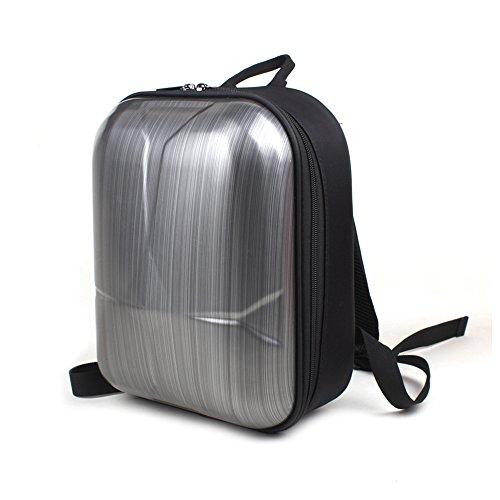 Flycoo Mini mochila impermeable práctica carcasa dura antigolpes maleta para DJI Mavic Pro / Mavic Pro Platinum Drone y mando a distancia y accesorios (negro)