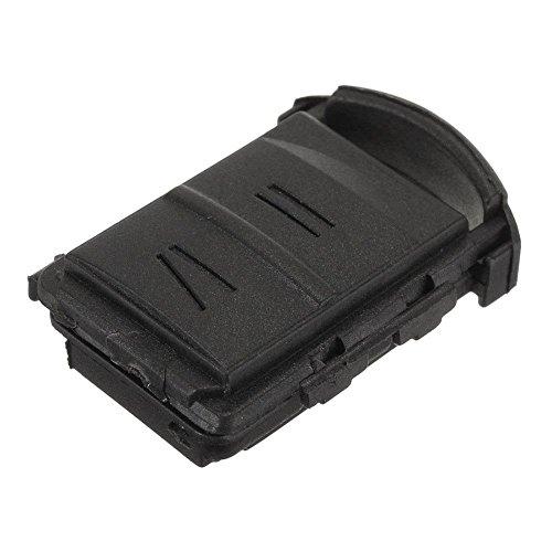 ZHUOTOP - Carcasa de repuesto para mando a distancia de Opel Corsa, Agila, Meriva (2 botones)