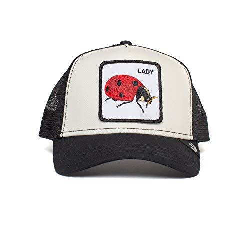 Goorin Bros Trucker Cap Lady Bug Black/White - One-Size
