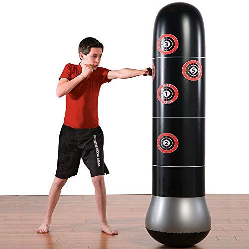 Big seller Schwerkrafttrainer Aufblasbare Boxing MMA-Boxsack für freistehende Tumbler-Belüftungsspielzeuge