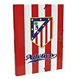 Atletico de Madrid Archivos y Carteras Unisex Adulto Carpeta CLASIFICADORA CC-01-ATL Accesorios, Multicolor, Talla única