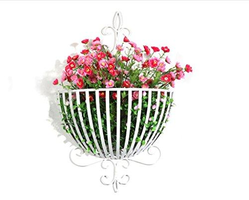 DENGTU Plantenrek voor balkon, decoratie, single layer bloempot met een diameter van 25 cm