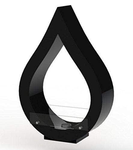 San Marco dropglossyblack - Caminetto al bioetanolo Design Drop