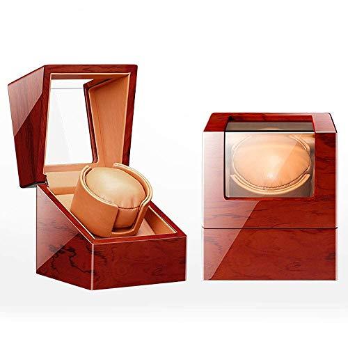 Caja Enrolladora Automática para Relojes Caja A Prueba De Polvo Caja Enrolladora Automática De Cuero para Relojes Individuales