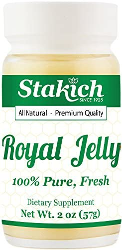 Stakich Fresh Royal Jelly - Pure, All Natural - No Additives/Flavors/Preservatives Added - 1 Kilogram (2.2 Pounds)