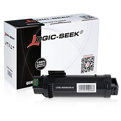 Logic-Seek® Toner kompatibel zu Dell H625 H825 CDW H820 Series S2825 CDN - Schwarz 3.000 Seiten