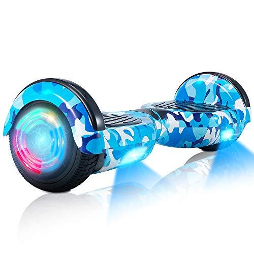 Hoverboard ,Selbstausgleichender Roller 6,5 'Selbstausgleichendes Zweirad-Hoverboard mit Bluetooth-Lautsprecher und...