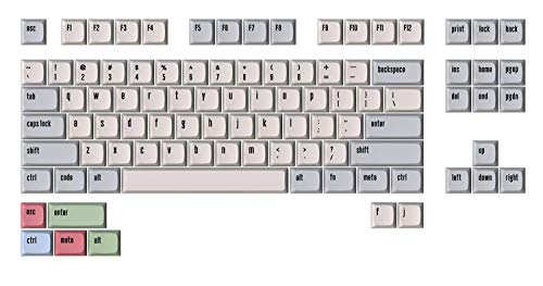 DROP + MiTo XDA Canvas Keycap Set for Tenkeyless Keyboards - Compatible with Cherry MX Switches and Clones (TKL 94-Key Kit)