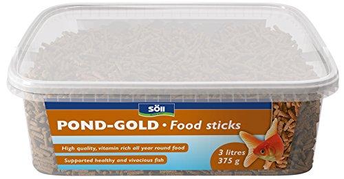 Söll Pond-Gold clés Nourriture, 3 Litre